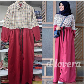 AQELA DRESS MAROON