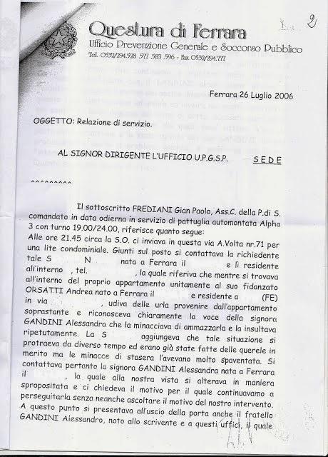 Favori LA FAMIGLIA GANDINI DI FERRARA. STORIA ATROCE DI PERSECUZIONE E  MC87