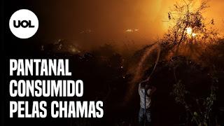 INSS reabre com filas – Queimadas no Pantanal