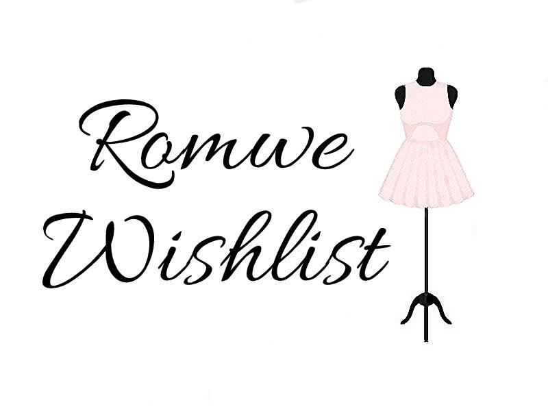 Wishlist Romwe | przegląd sukienek, jeasnów i koszul