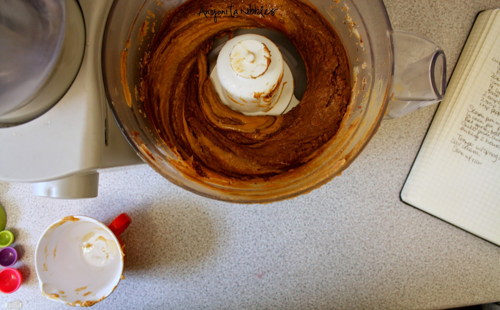 Peanut butter Nutella cookies made in the food processor |Anyonita Nibbles