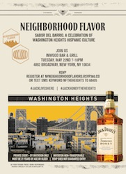 5/22 JACK HONEY PRESENTS NEIGHBORHOOD FLAVOR | A CELEBRATION OF WASHINGTON HEIGHTS HISPANIC CULTURE