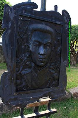 Emilio Aguinaldo, Bronze relief plaque, Intramuros, Manila, Philippines