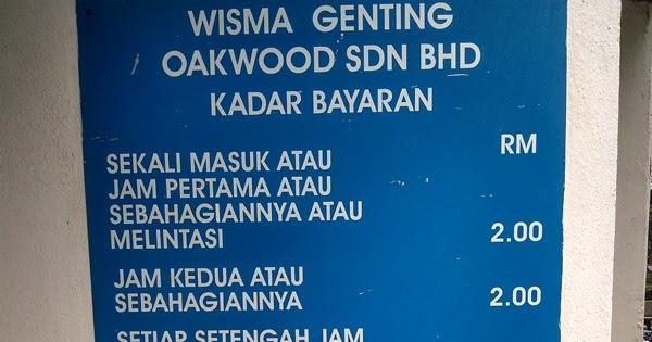 Parking Rate Kl Wisma Genting Pavilion Bukit Bintang Kuala Lumpur City Centre