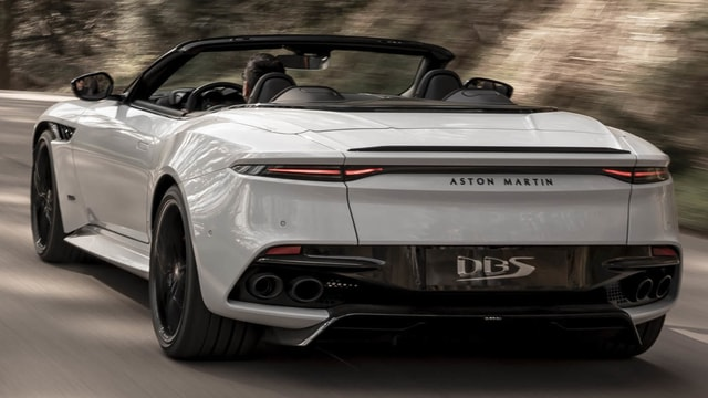 Aston Martin DBS Superleggera Volante 2020 - An Experience That Overcomes Prospects