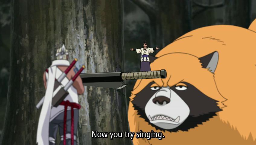 keblog tattoo: Naruto Shippuden 206: Sakura's Feelings