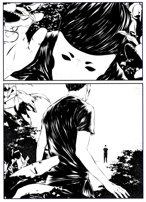 ©Mojo Wang - Mini Comic Story: Between Rivers #3