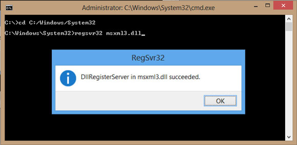 How to register and unregister dll files in Windows