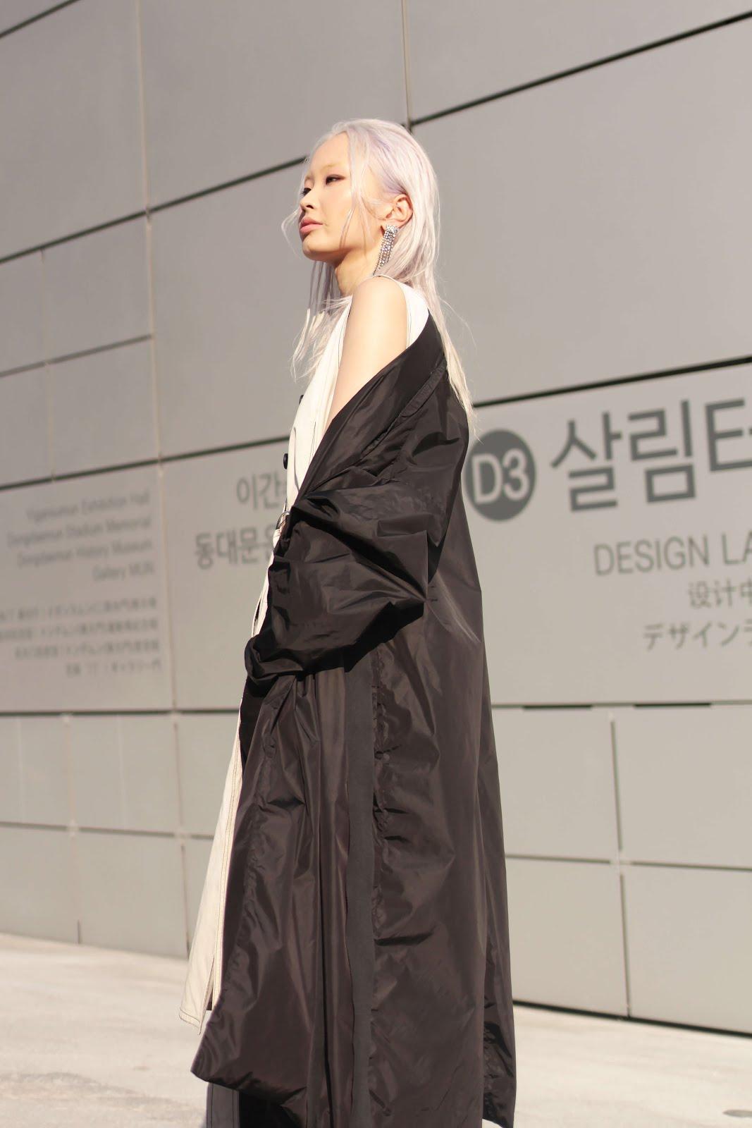 seoul fashion week ss18 fw17 streetstyle models off duty