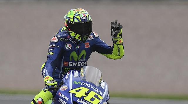 Valentino Rossi punya rekor buruk di Brno