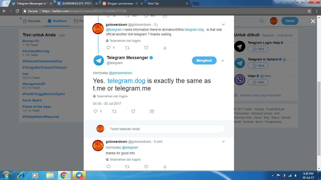 Cara Membuka Telegram Dengan Cara Baru Agar Tidak Di Blokir Di