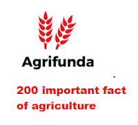 200 important fact of agriculture