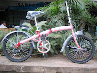 Sepeda Lipat Axxil 6 Speed Shimano 20 Inci