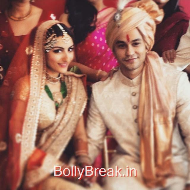 soha ali khan , .........i married my best friend today ❤️, Soha Ali Khan Kunal Khemu Wedding Pics