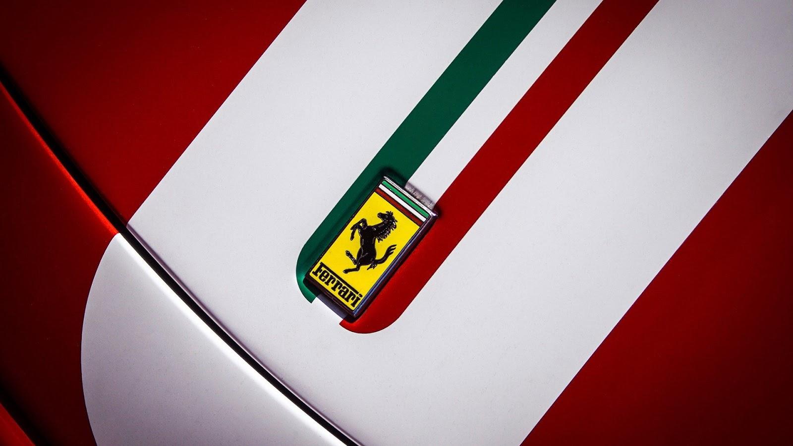 Hd Car Wallpapers 2560x1600 Ferrari Logo On Car Wallpaper