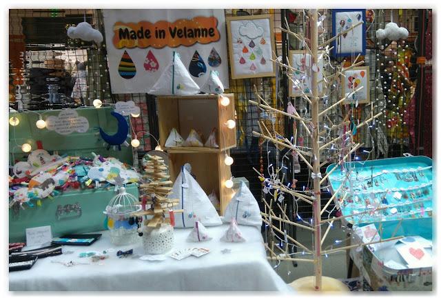 stand marché de Noël
