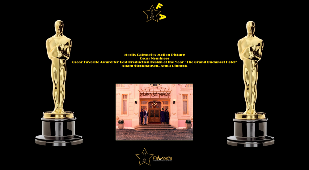 oscar favorite best production design award-adam stockhausen-anna pinnock-the grand budapest hotel