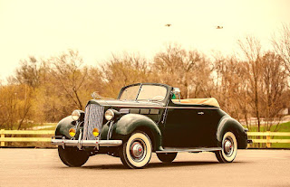 1938 Packard Six Luxury Convertible Front