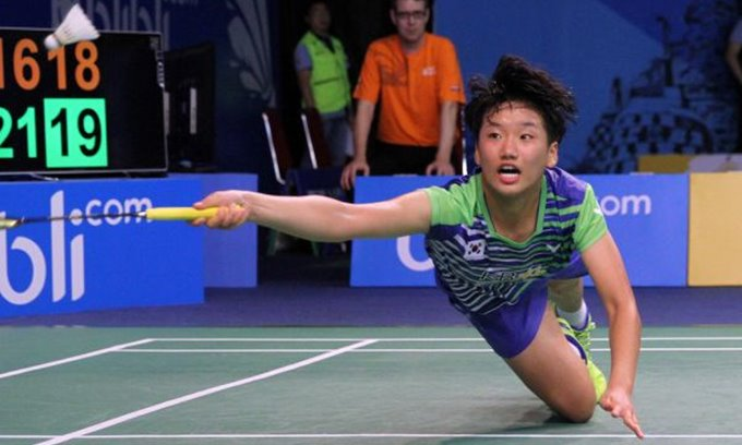 An Se Young Sudirman Cup 2019