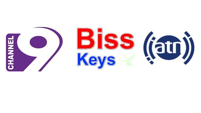 CHANNEL 9 & ATN NEW UPDATED BISS KEYS 2019