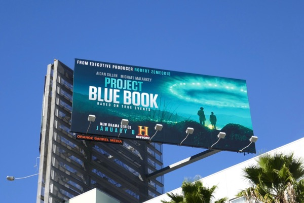 Project Blue Book series billboard