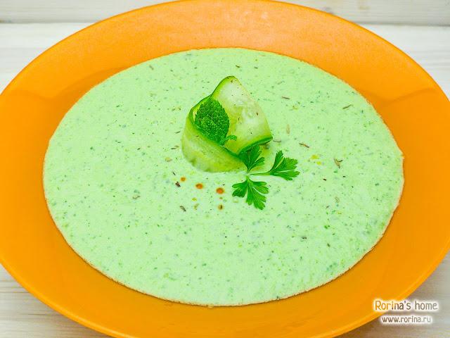 Суп из свежих огурцов: рецепт