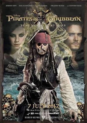Filme Poster Piratas do Caribe: A Vingança de Salazar