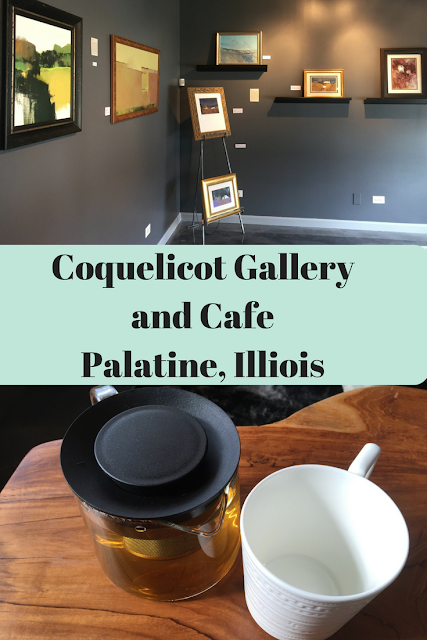Coquelicot Gallery and Cafe in Palatine, Illinois is home to artisan items, loose leaf tea, light bites and more