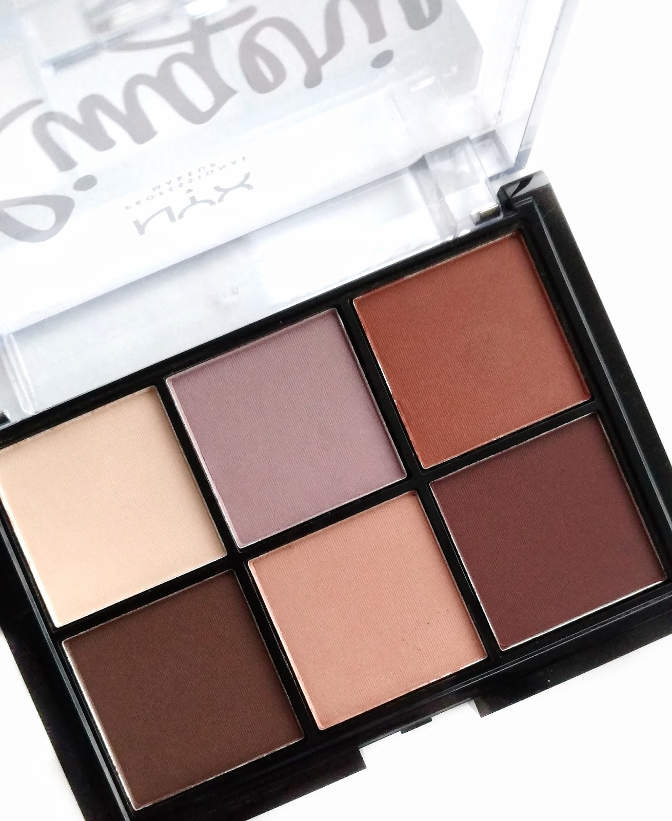 NYX Lid Lingerie Shadow Palette Review & Swatches - Beauddiction