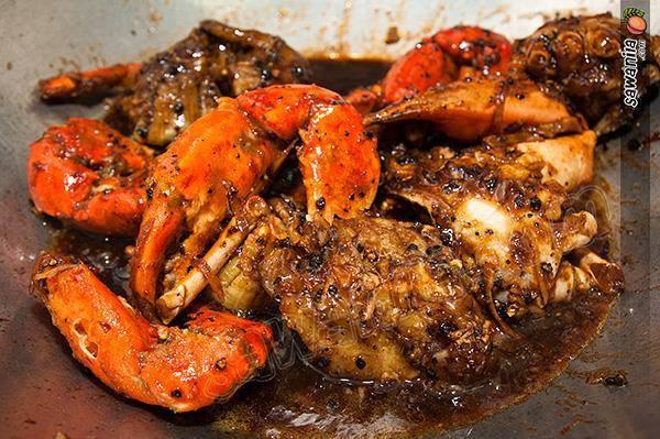 ketam masak black pepper sedap  mudah aneka resepi timur  barat Resepi Ayam Masak Negro Enak dan Mudah