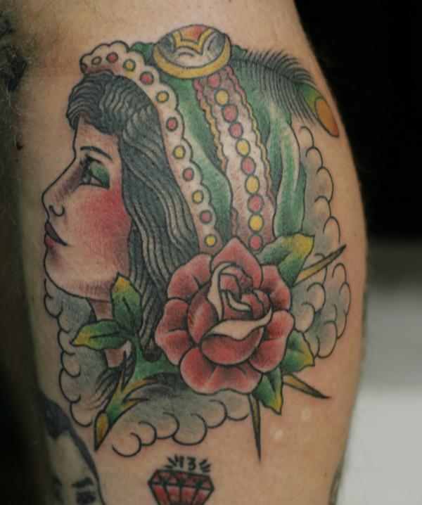 Gypsy Lady Tattoo Designs
