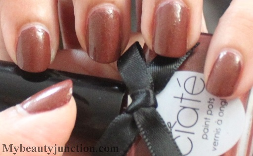 Ciate Pecan Pie nail polish swatch, review, photos