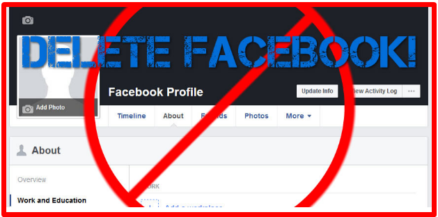How to completely delete facebook account ccuart Choice Image