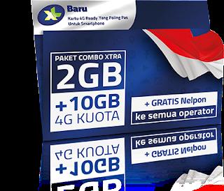 Paket Internet XL Combo Xtra 4G Terbaru 2016