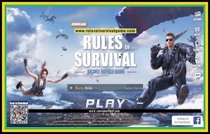 Cara Memenangkan Game Rules Of Survival 100% Ampuh, Android/PC