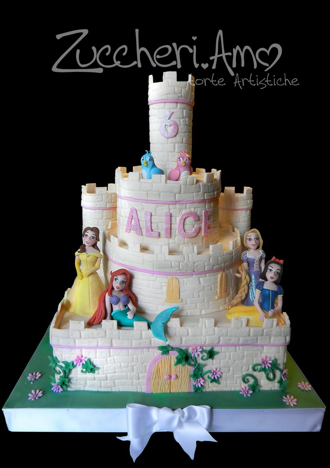 Zuccheri.amo: Il castello delle PRINCIPESSE Disney