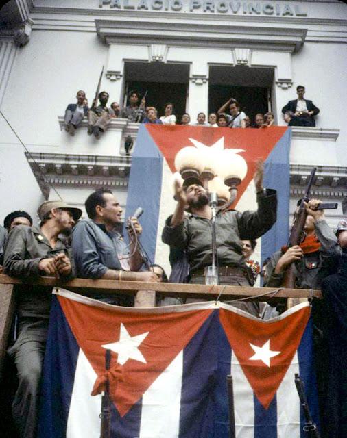 Cuban Revolution In Color Photos January