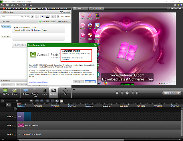 TechSmith Camtasia Studio 8 Full Crack