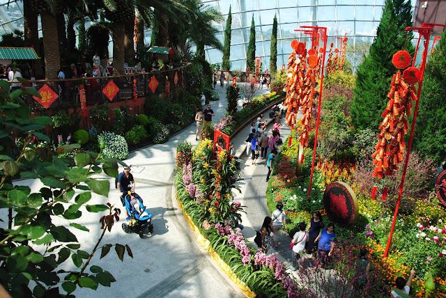 Ogród w Singapurze