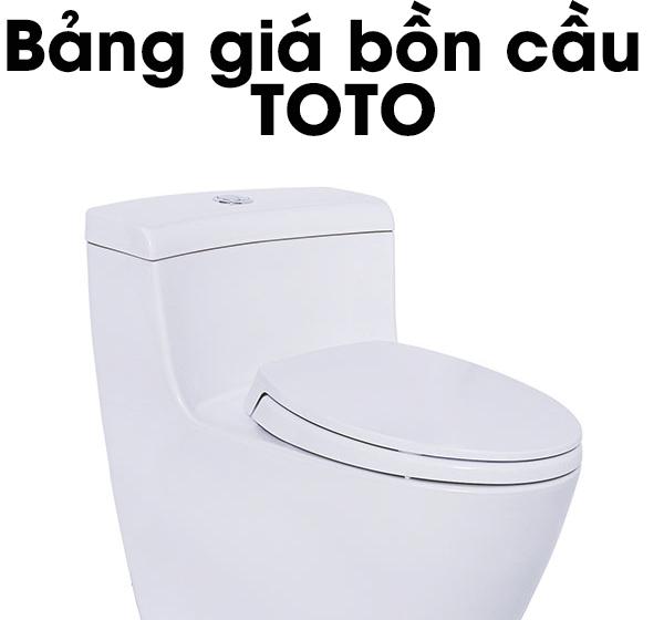 bồn cầu toto