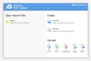 Wondershare PDF Editor - Software Gratis Untuk Mengedit PDF
