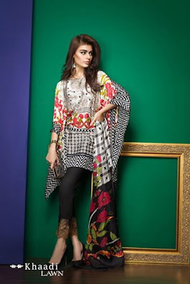 Khaadi-latest-summer-lawn-designs-satin-collection-2017-for-girls-5