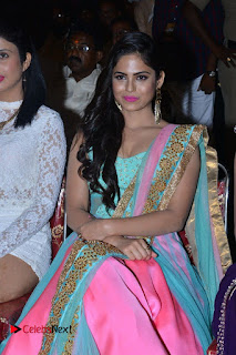 Actress Naina Ganguly Stills in Long Dress at Vangaveeti Audio Launch  0062.JPG