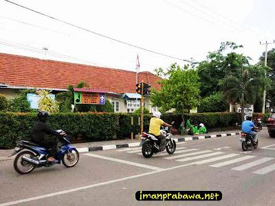 Jalanan Depan SMP Negeri 1 Tanjung Pinang