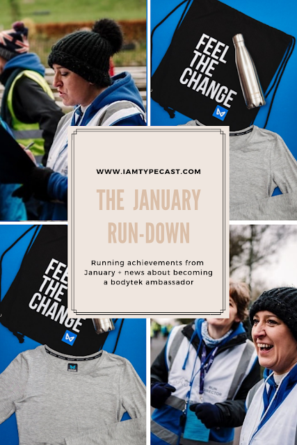 The January Run Down : Running updates from January plus sharing the news that I'm now a bodytek ambassador