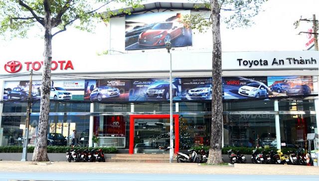 Toyota An Thành là đại lý Toyota ra đời lâu nhất ở Việt Nam