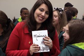 Ana Rapha Nunes, autora do livro Mariana