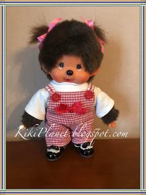 kiki monchhichi salopette vêtement poupée sewing couture handmade fait main