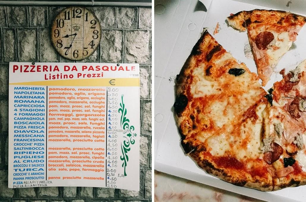īstās itāļu piccas