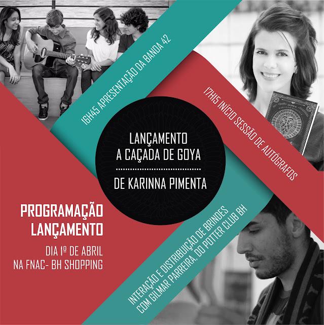 Karinna Pimenta, A Caça de Goya, Passeios, Passeios com a Mamãe, Roteirinho da Sorte, mamãe sortuda, lançamento de livro, FNAC, BH Shopping,